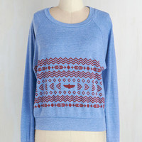 90s Short Length Long Sleeve Collaborate with Comfort Top