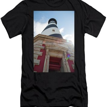 Cape Hatteras Lighthouse - Men's T-Shirt (Athletic Fit)