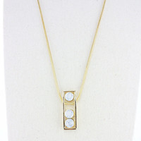 Jewelry Shiny Stylish Gift New Arrival Ladies Strong Character Fashion Turquoise Pendant Sweater Chain Necklace [4956885444]