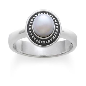 James Avery Vintage Pearl Ring