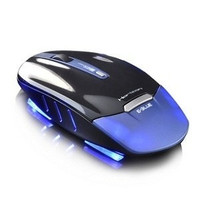 blue E-3LUE wireless mouse game mouse ultrathin energy-saving blade glare = 1753492164