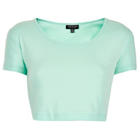 Basic Crop Tee - Jersey Tops - New In This Week - New In - Topshop USA