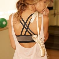 CROPPED LOW BACK TANK