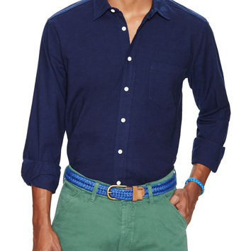 Levi's Made & Crafted Men's Classic Pure Sportshirt - Blue -