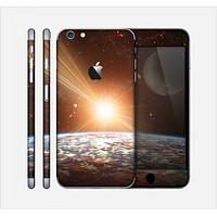 The Earth, Moon and Sun Space Scene Skin for the Apple iPhone 6 Plus