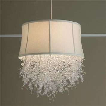 Dripping Crystal Shade Chandelier - Medium 2 colors! - Shades of Light