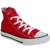 Converse Red Children CT Ox Hi Trainers