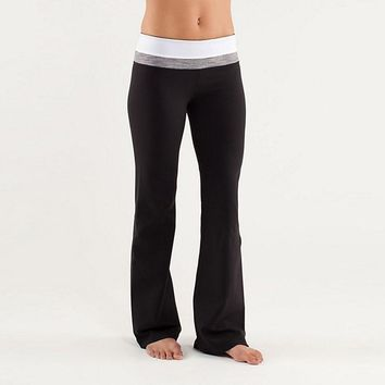 Lululemon Casual Sport Gym Yoga Multicolor Tight Pants Trousers Sweatpants