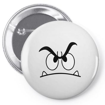mad face Pin-back button