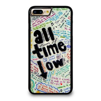 ALL TIME LOW COLOUR iPhone 4/4S 5/5S/SE 5C 6/6S 7 8 Plus X Case