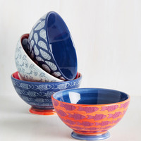 Oh, Shell Yeah! Bowl Set | Mod Retro Vintage Kitchen | ModCloth.com