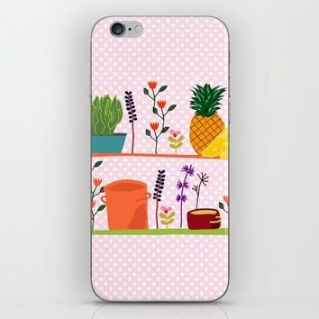 Happy shelf iPhone & iPod Skin by Sagacious Design