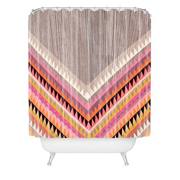 Iveta Abolina Boardwalk Shower Curtain