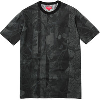 Supreme: Aspen Wood Pocket Tee - Black Camo