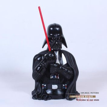 Star Wars Force Episode 1 2 3 4 5  Darth Vader Piggy Bank PVC Figure Collectible Model Toy 22cm AT_72_6