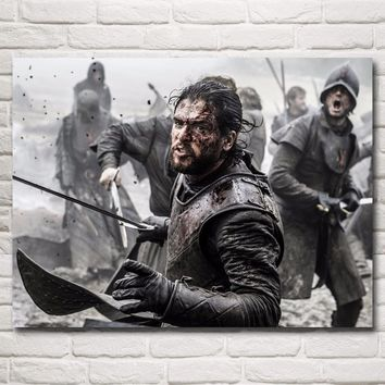 Game of Thrones Hot TV Series Art Silk Fabric Poster Print Wall Home Decor Pictures 12x16 18x24 24X32 Inches Free Shipping