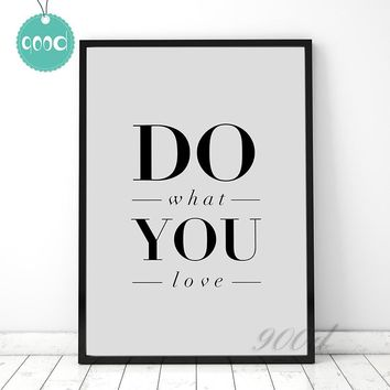 Inspiration Quote Canvas Art Print Painting Poster, Wall Pictures for Home Decoration Print, Wall Decor FA116