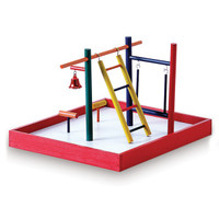 Prevue Pet Products Park Playground Parakeet Toy