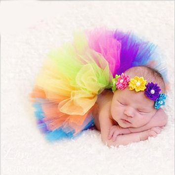 Baby Photography Props Kid Clothes Infant Costume Outfit Newborn Photography Prop With Real Photo Dress Princess Party