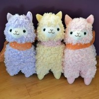 Big Arpakasso Fluffy Alpaca Plush | £24.95 | Buy @ Something Kawaii UK