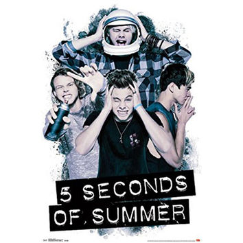 5 Seconds of Summer - Headache 22x34 Standard Wall Art Poster