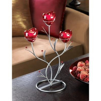 Heart Bouquet Candle Holder