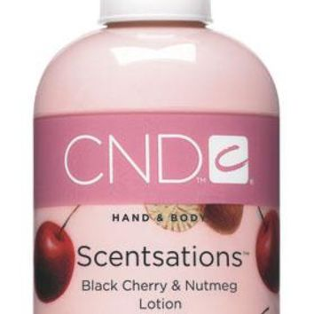 CND - Scentsation Black Cherry & Nutmeg Lotion 8.3 fl oz