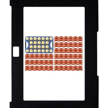 American Breakfast Flag - Bacon and Eggs Galaxy Note 10.1 Case  by TooLoud