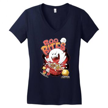 boo bites Women's V-Neck T-Shirt