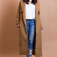 Park City Coat - Camel