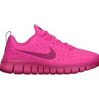 Nike Free Express 10.5c-3y Preschool Kids' Running Shoes - Hyper Pink