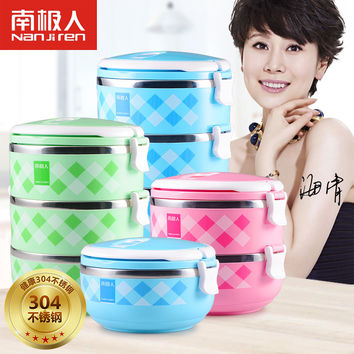 Large Capacity High Quality Japanese Stainless Steel Lunch Box Insulation Bento Thermo Lunch Box Food Container Picnic Container