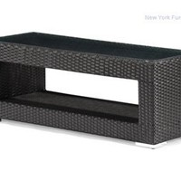 Zuo Algarva Outdoor Coffee Table - Chocolate - 701152, Outdoor Coffee Table, Patio And Outdoor Furniture: Nyfurnitureoutlets.com