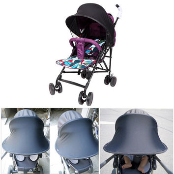 Useful Sun Shade Maker for Kid Baby Strollers Pram Buggy Pushchair and Car Seats L07