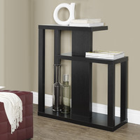 "Cappuccino 32""L Hall Console Accent Table"