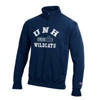 UNH Bookstore - Champion Quarter Zip Sweatshirt