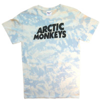 Artic Monkeys Acid washed customised FESTIVAL T shirt vintage retro grunge