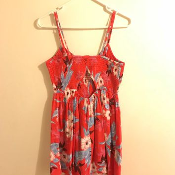 American Eagle Tropical Dress