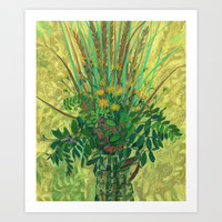 Bouquet from the Finnish Bay Art Print by Clipso-Callipso