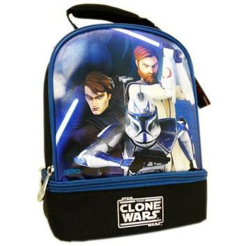 Thermos Star Wars Clone Wars Insulated Lunch Tote Bag