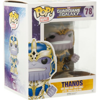 "Funko Marvel Guardians Of The Galaxy Pop! Thanos 6"" Vinyl Bobble-Head"