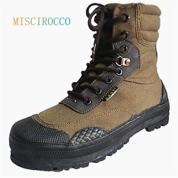 Military Tactical Ankle Boots Camouflage Army Jungle Combat Boots Men Espadrilles Shoes Botas Hombre Rangers Walking Boots Bot