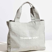 UO Souvenir Thank You Tote Bag
