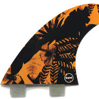 """Captain Fin Dion Agius """"Psych Floral"""" Thruster Fins"""