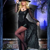 Wicked Me Sexy Witch 2 Piece Costume
