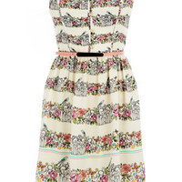 Oasis All Dresses | Multi Birdcage Sundress | Womens Fashion Clothing | Oasis Stores UK