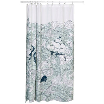 The naked women shower curtains are smoking want