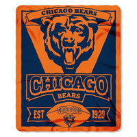 Chicago Bears Marque Blanket