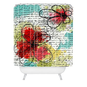Irena Orlov Couple Shower Curtain