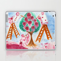 Painting the Roses Red Laptop & iPad Skin by Susaleena